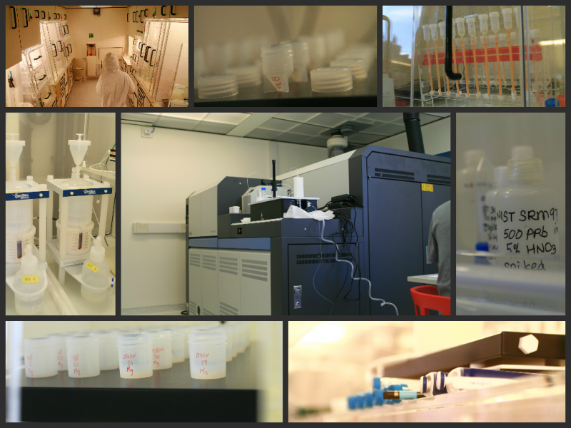 lab collage